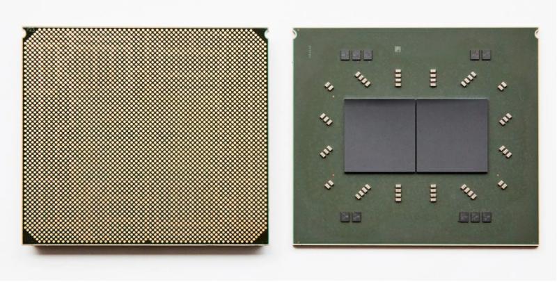 Chaque package Telum se compose de deux processeurs 7 nm, huit cœurs/seize threads fonctionnant à une vitesse d'horloge de <em>base</em> supérieure à 5 GHz.  Un système typique aura seize de ces puces au total, disposées en quatre sockets » drawers.=»»/><figcaption class=