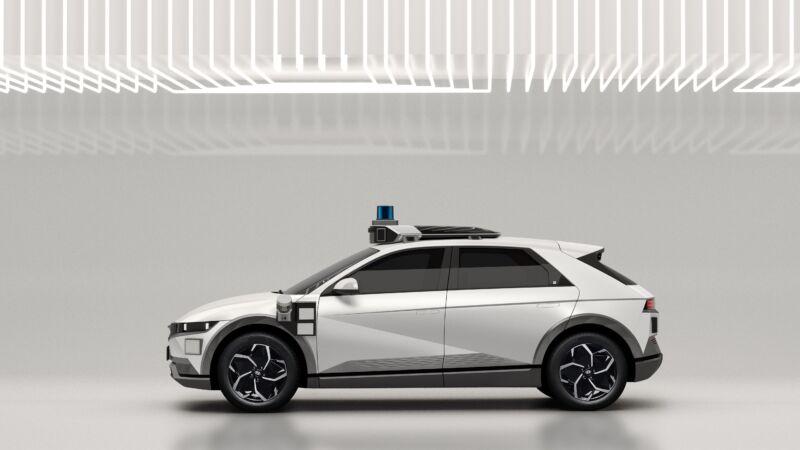 In 2023, Motional will begin operating Hyundai Ioniq 5 robotaxis.