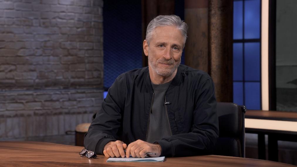 Jon Stewart jokes in the first episode about