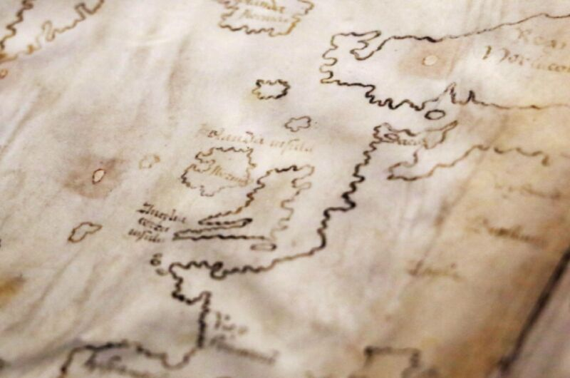 The Vinland Map purports to be a 15th-century map with a pre-Columbian depiction of the North American Coast. A new analysis has confirmed that the map is, in fact, a modern-day forgery.