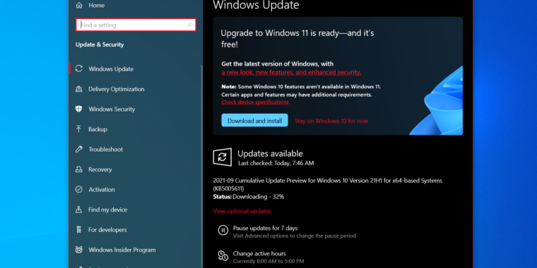 Windows 11 hits the Release Preview Insider channel as official release nears - Ars Technica