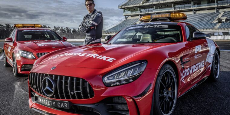 Ever wondered about the F1 safety car? We talk to its driver