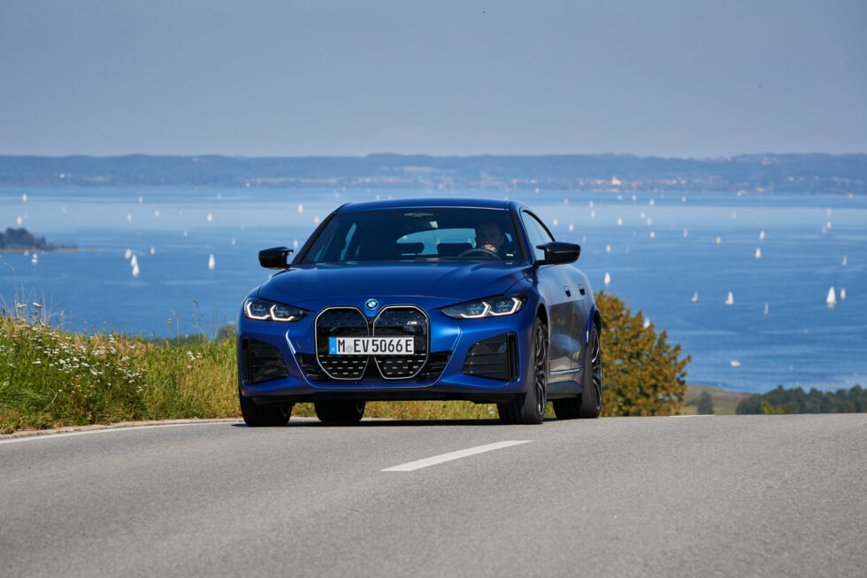 Thei4 M50 may not be a Nürburgring monster like the M3, but it's a fast and powerful electric sedan that rides well and features some clever technology.