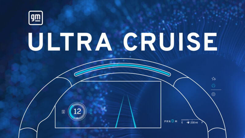 Ultra Cruise will ultimately enable door-to-door hands-free driving on all public paved roads in the US and Canada, says the company.