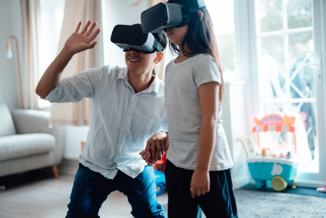 The VR and AR category is predicted to grow the fastest.