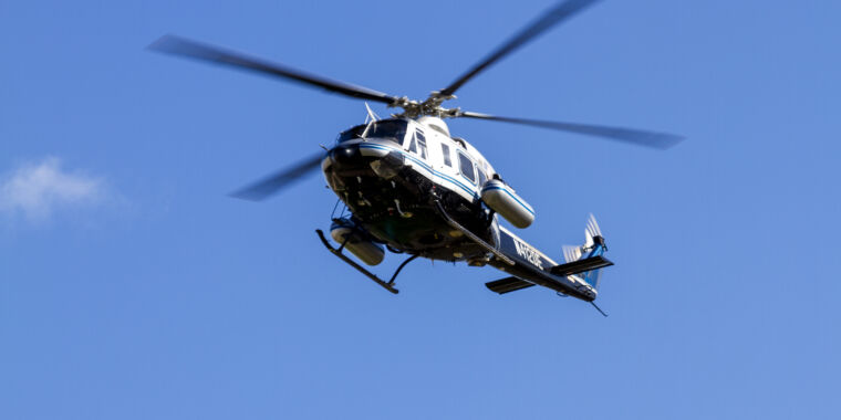 Nuclear security helicopter scours Boston Marathon route for radiation thumbnail