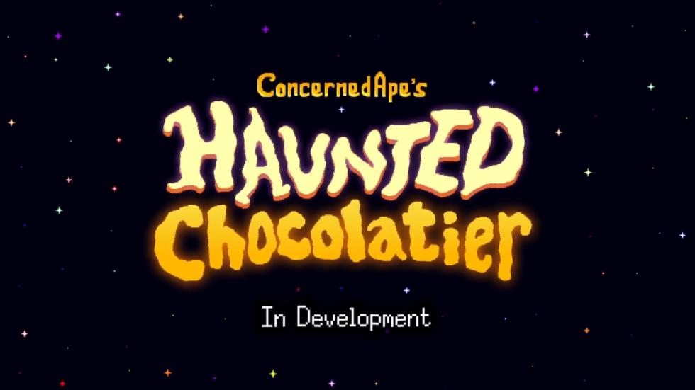 Stardew Valley's creator announces pixel-art followup Haunted Chocolatier