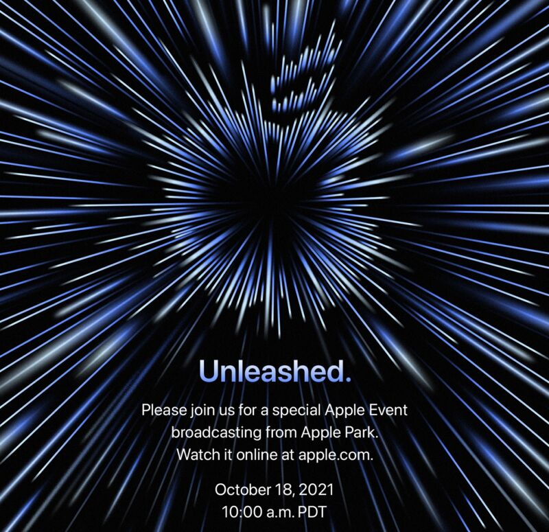 """""""Unleashed"""": Apple's next, probably Mac-focused event happens October 18"""