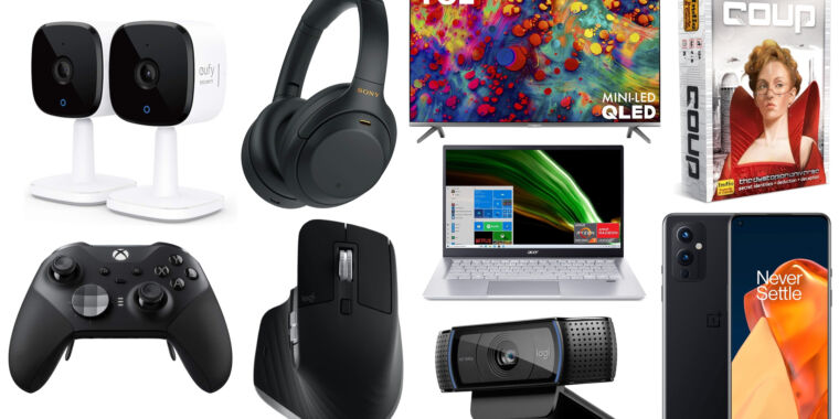 An all-time low on Sony noise-canceling headphones, plus more of today's best deals