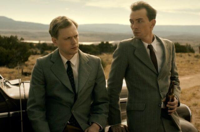 Ulam's best friend, John von Neumann (Fabian Kociecki) convinces him to accept an unusual offer.