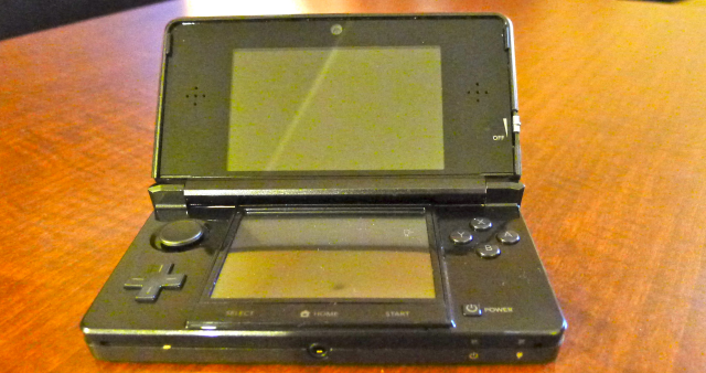 The demo unit may not entirely resemble Nintendo's final version.