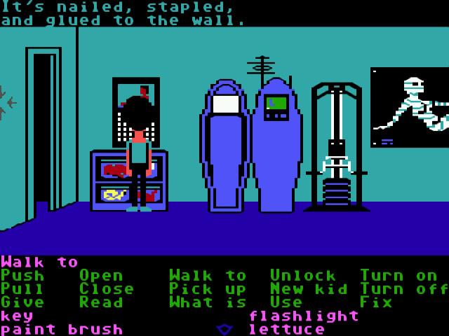 <em>Maniac Mansion</em>&#8212;the first SCUMM game