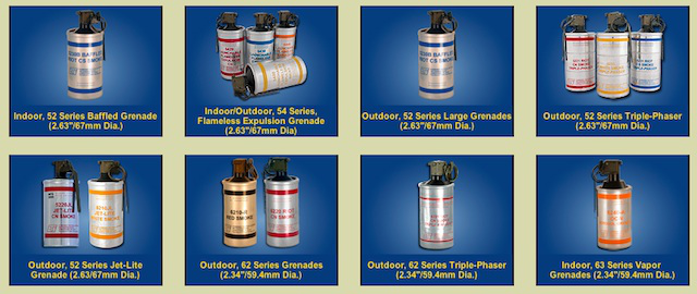 A wide array of shiny new canisters