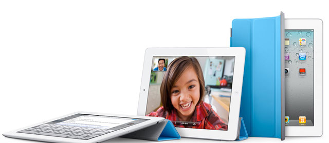 The iPad 2 has a redesigned cover