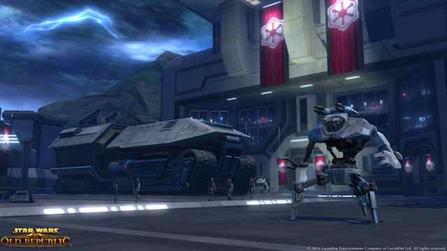 A screenshot from the flashpoint Taral V.