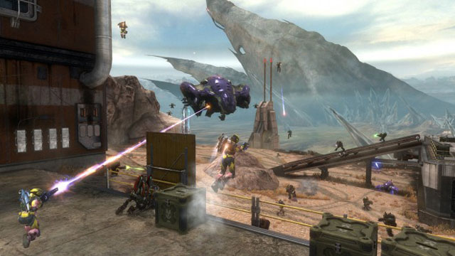 343 Industries' Frank O'Connor points to the humans-versus-computer gameplay in the Unearthed map as an example of how the newly formed Microsoft division might tackle a full-on <em>Halo</em> title.