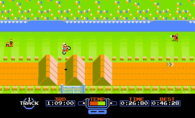 <em>Excitebike</em> is the first classic game that will be given a 3D facelift on 3DS, Nintendo said. It will be available for free for the first 30 days