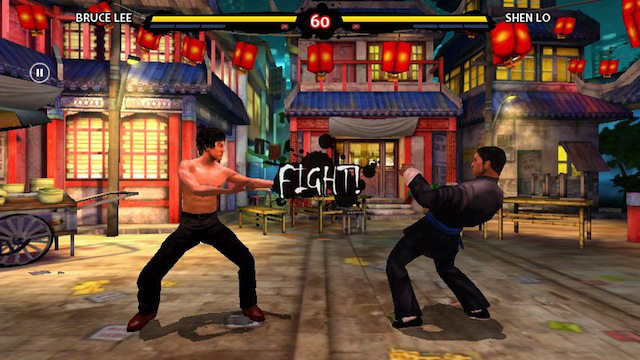 <em>Bruce Lee: Dragon Warrior</em> is one of the better games for the Xperia Play's controls.