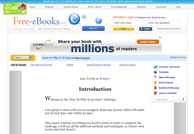 "Many ""books"" can be made out of free content found on the Internet and given an SEO-optimized title on the Kindle store."