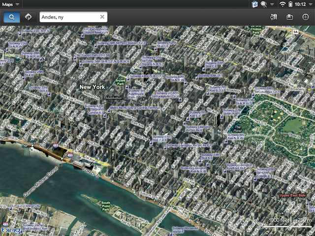 Bird's Eye view in Bing lets you turn the camera around a scene