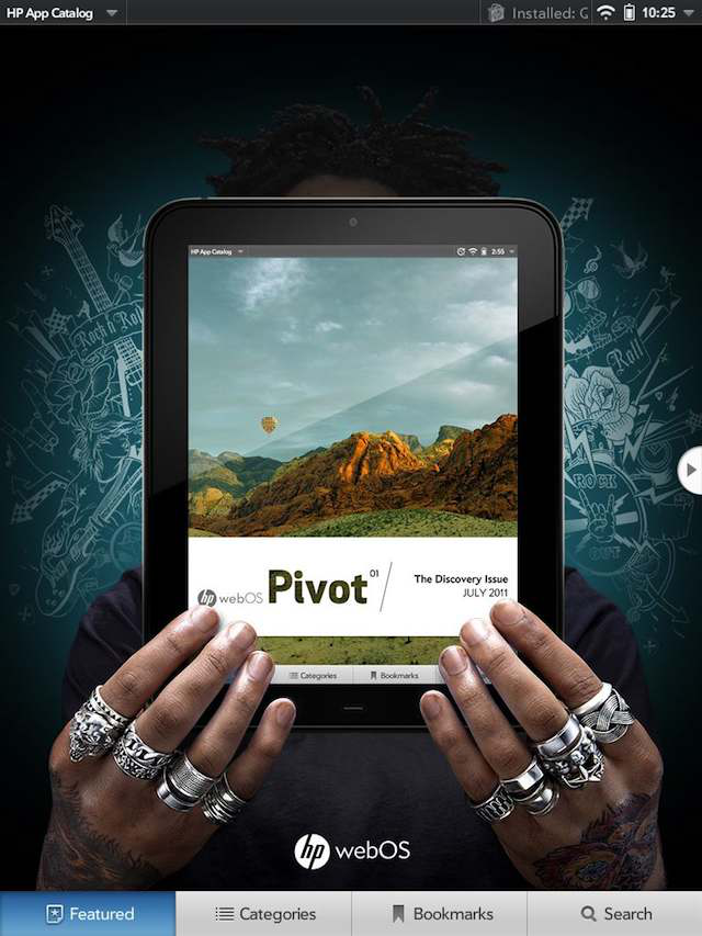The front page of Pivot
