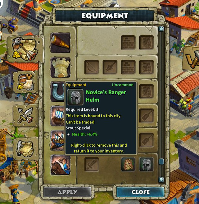 Collect (or craft) pieces of equipment for every available unit and building in the game.