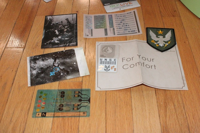 More odds and ends, including patches, DNA cards, and other bits of silliness from the world of <em>Halo</em>.
