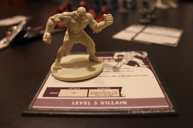 The miniatures look great and add character to the game