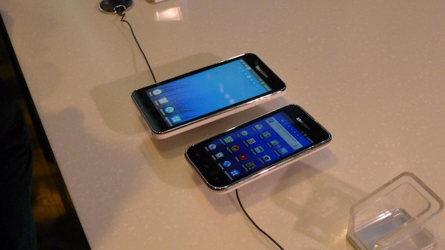 The Samsung Players 5.0 and 4.0 side by side