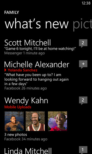 Keep track of your family with groups