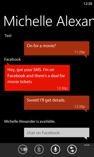 SMS, Facebook Chat, Windows Live Messenger: they all work the same way