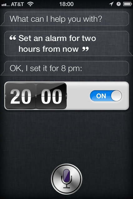 Setting alarms and timers is, strangely, one of my favorite uses for Siri