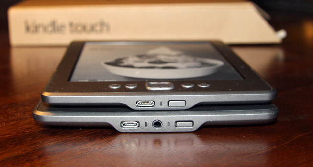 The key difference (aside from size) is the audio jack and speakers on the Touch.