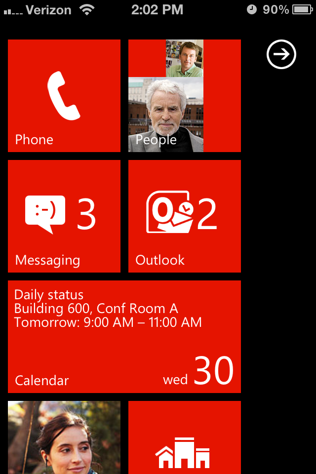 Apple's latest Windows Phone device