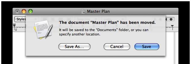 TextEdit: a good Mac OS X citizen