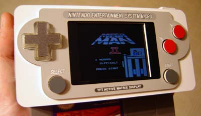It's like an NES, only smaller