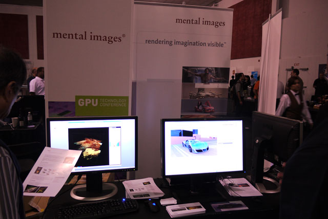 The Mental Images booth