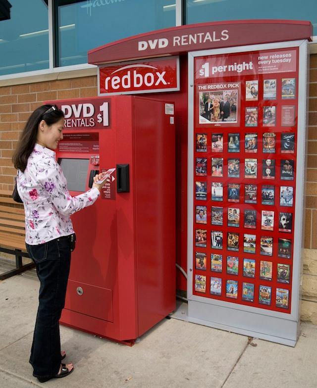A Redbox kiosk (Source: Redbox)