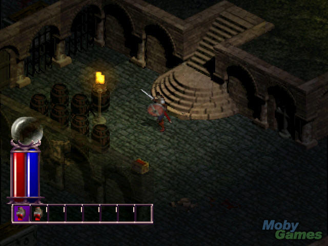 <em>Diablo</em> on the original PlayStation