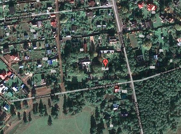 Nikolaenko's home outside Moscow