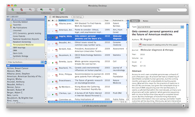 The OS X desktop client. Windows looks the same, but more Windowsy.