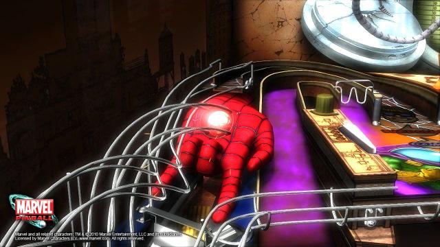<em>Marvel Pinball</em>