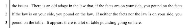 A beatdown, federal judge style