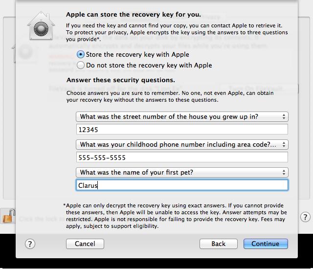 Recovery key escrow: help Apple help you