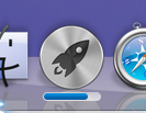 Mac App Store download progress