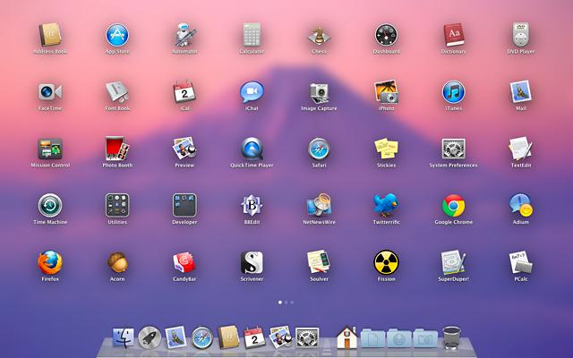 Launchpad: iOS's SpringBoard on your Mac