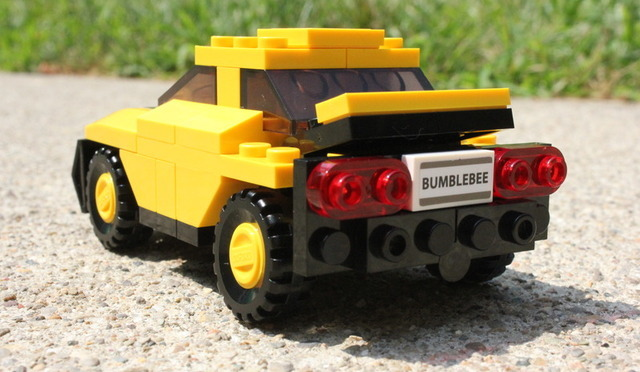 Bumblebee in vehicle form