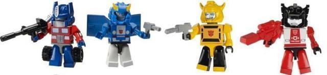 A selection of Autobot Kreons