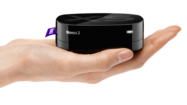 The Roku 2 is smaller than the already-tiny Apple TV 2.