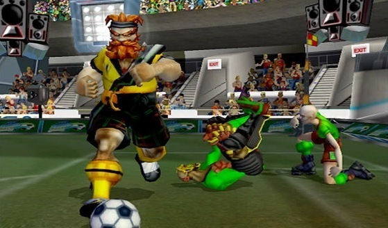 Sega Soccer Slam was a title from Black Box Games, which was later purchased by EA